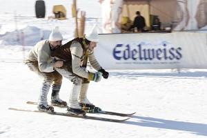 Nostalgie-Skirennen sind groß im Kommen. In Leogang findet Mitte Januar die Weltmesiterschaft statt. - Foto: Mario Kemetinger