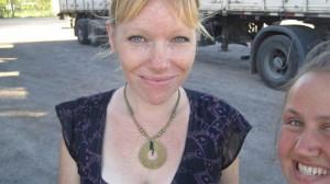 Meine Reisepartnerin auf dem Weg nach Ushuaia: Kathy. Foto: Nora von Breitenbach