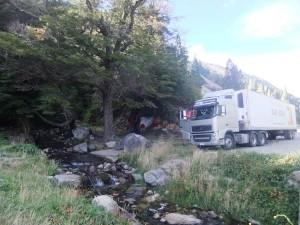 Pause mit dem Truck. Foto: Nora von Breitenbach
