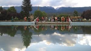 Eine Clownschule in El Bolson. Foto: Nora von Breitenbach