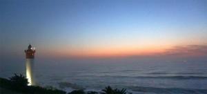 Sonnenaufgang am Indischen Ozean.