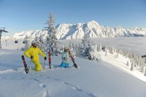 Ein Skitourencamp findet im Dezember in Saalfelden am Steinernen Meer statt. Natürlich müssen die Schneeverhältnisse mitspielen. - Foto: Saalfelden-Leogang Tourismus
