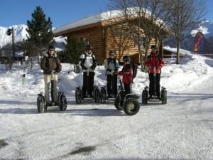 Segway-Touren eignen sich für die ganze Familie. Foto: segway-fiss.at