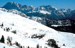 Traumhaft: Im Skigebiet Trevalli passt alles zusammen. - Foto: Dolomiti Superski