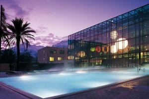 Hotel Therme Meran – einer der 25 Pools. Foto: Tappeiner