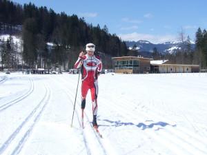Meditatives Langlaufen im Tölzer Land bietet der ehemalige Biathlet Stefan Jaud an. - Foto: Stefan Jaud