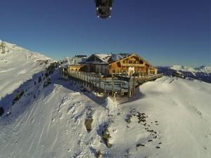 Die Kristallhütte bietet hochwertige Hüttengastronomie. - Foto: SKi-optimal Hochzillertal Kaltenbach
