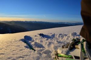 Skispaß und freie Hänge in Südtirol.