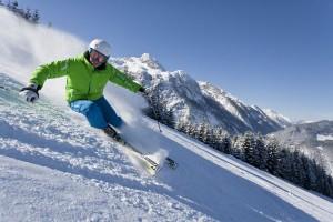 Pures Schneevergnügen gibt es am Karkogel in Abtenau.