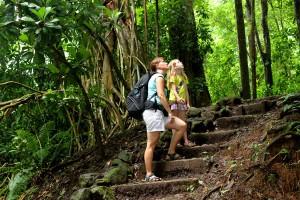 Ein besonderes Abenteuer in Costa Rica: Wandern im Regenwald. - Foto: TRAVELKID Fernreisen