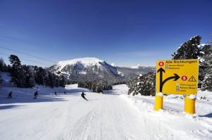 Freie Fahrt in alle Richtungen – Obereggen ist ein Skigebiet mit allen Schwierigkeitsgraden. – Foto: Roberto Brazzoduro