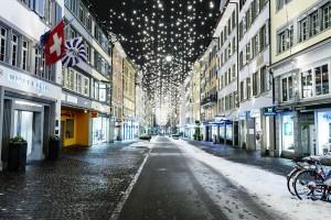 Der Rennweg ist eine der ältesten Straßen der Altstadt von Zürich. - Foto: Zürich Tourismus