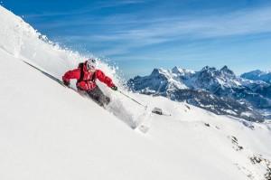 Kitzbühel lockt noch bis 1. Mai mit perfekten Pistenbedingungen am Berg. Foto: Michael Werlberger / kitzbuehel.com
