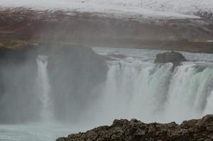 Godafoss-Wasserfall.