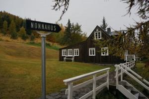 Das Nonni-Geburtshaus in Akureyri.