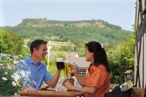 Bierliebhaber sind in Franken immer richtig. - Foto: Kur & Tourismus Service Bad Staffelstein