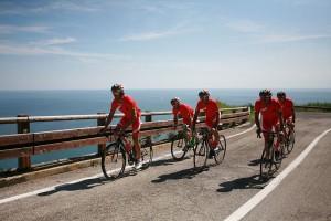 Cesenatico ist ein Paradies für Rennradfahrer.