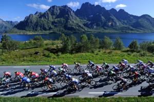 Das Arctic Race of Norway - Profiradsport vor traumhafter Kulisse. Foto: Arctic Race of Norway / Copyright: A.S.O.