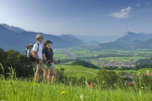 Das Ferienland Kufstein verspricht seinen Gästen herrliche Panoramablicke. - Foto: Ferienregion Kufstein