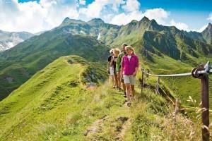 Wandern auf dem Kitzsteinhorn ist ein herrliches Vergnügen. - Foto: Gletscherbahnen Kaprun AG