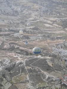 Heißluftballone über Kappadokien. Foto: Thomas Bauer