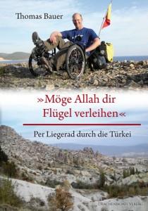 Thomas Bauers Buch über seine Türkeireise per Liegerad. Foto: Thomas Bauer