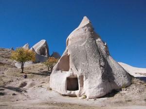 In Kappadokien haben Wind und Erosion skurrile Figuren und Formen geschaffen.Foto: Thomas Bauer