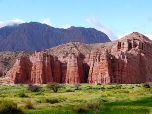El Castillo - Quebrada de las Conchas.