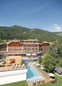 Das Hotel Lanerhof.