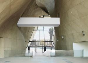 Der architektonische Entwurf für das Gebäude wurde im Rahmen eines internationalen Wettbewerbs gewählt. - Foto: Museum der Geschichte der Polnischen Juden
