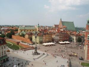 Blick vom Turm der Sankt Anna-Kirche auf die Altstadt. Foto: Raja Kraus