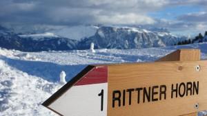Das Rittner Horn auf dem Hausberg von Bozen lockt mit vielseitigem Ski- und Schneevergnügen für die ganze Familie. – Foto: TVB Südtirols Süden/Tiberio Sorvillo