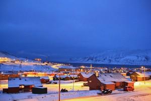 Longyearbyen auf Spitzbergen. Foto: Marcela Cardenas / nordnorge.com