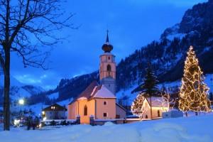 Kolfuschg ist das am höchsten gelegene Dorf im Hochabteital.