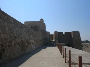 Das Fort von Bahrain war über lange Zeit der Hauptort der Insel. Seit 2005 ist die Festungsanlage UNESCO-Welterbe. - Foto: Dieter Warnick