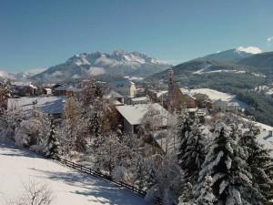 Deutschnofen ist eine reizende Gemeinde mit etwa 4000 Einwohnern; von Bozen aus sind es nur 20 Autominuten. – Foto: Eggental Tourismus