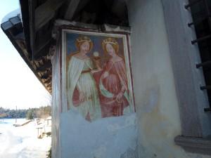 Die Wandgemälde von St. Helena sind kostbare Zeugnisse der Hochgotik. – Foto: Herbert Pichler