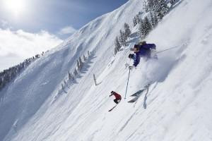48 Grad Gefälle, extrem trockener Schnee und kalte Temperaturen: Die Highland Bowl in den Aspen Mountains ist Kult. - Foto: Aspen Snowmass