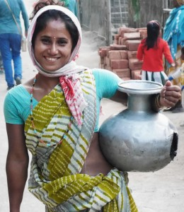 Bewohnerin von Assam.
