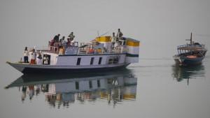 Boote der Einheimischen.