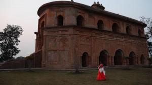 Der Rangpur Ahom Palast.