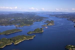 Der Hjeltefjord. Foto: Dirk Laubner
