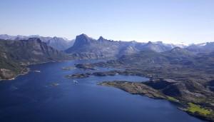 Vaerangfjord. Foto: Dirk Laubner