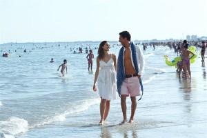 Am Strand von Lignano Sabbiadoro. Foto: Massimiliano Zambelli