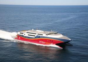 In nur knapp über zwei Stunden geht es vom Kontinent über das Wasser nach Norwegen. - Foto: Fjord Line