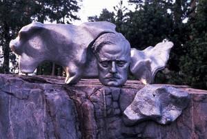 Die Sibelius-Statue in Helsinki. Foto: Visit Finland