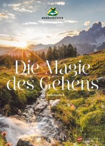 """Der neue Katalog von """"Österreichs Wanderdörfer"""".."""
