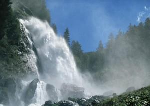 Der Stuibenfall im Ötztal. Foto: Ötztal Tourismus