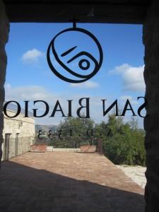 Herzlich willkommen im Kloster von San Biagio.