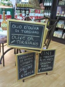 Olivenöl, Wein, Käse, Salami – Umbrien ist stolz auf seine Bodenständigkeit.